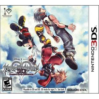 [NEW NOT USED] 3DS KINGDOM HEARTS 3D: DREAM DROP DISTANCE Nintendo Square Enix RPG Games