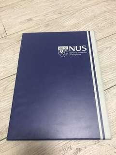 NUS A4 Hard Cover Folder