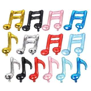Music Note Balloon (2 Designs available)
