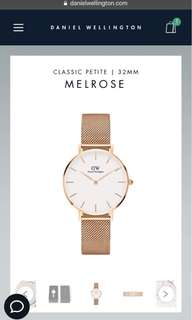 Daniel Wellington Classic Petite Melrose 32mm and 28mm