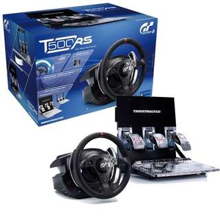 Thrustmaster T500RS full wheel and Pedal set