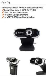 A4Tech PK-920H Webcam