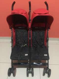 Sweet Cherry Twin Stroller