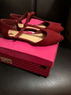 Forever 21 red flats
