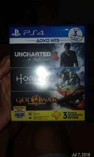 Uncharted 4 and Horizon Zero