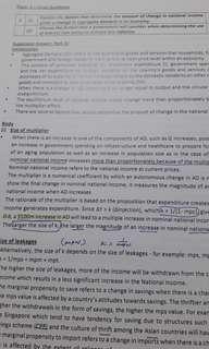 JC Economics compiled essay answers