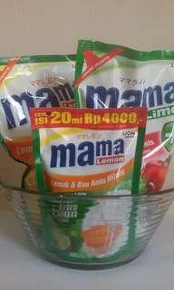 Paket mama lemon dan mangkok besar