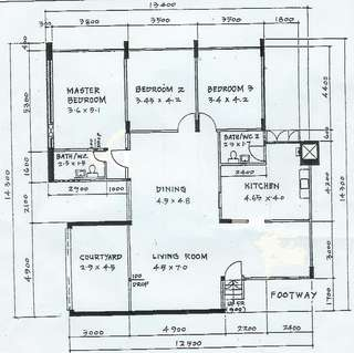 Ground floor EA executive apartment