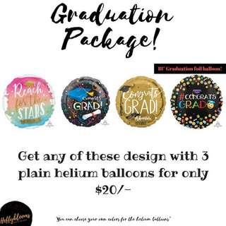 Graduation balloons 🎈