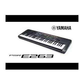 Kredit Keyboard PSR E263 Di Sincere Gandaria City