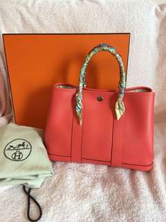 Hermes Garden Party 30 (authentic)