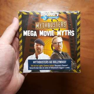 (Giveaway) Mythbusters CD DVD