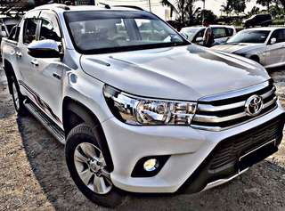 SAMBUNG BAYAR / CONTINUE LOAN  TOYOTA HILUX REVO G 2.4 AUTO DOUBLE CAB 4WD