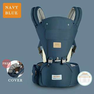 Baoneo baby hipseat carrier with hoodie