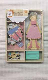 Wooden Dress up Doll