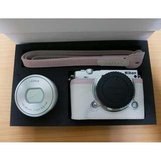 可小議價【Nikon】J5 10-30mm 相機美人 白色戀人禮盒