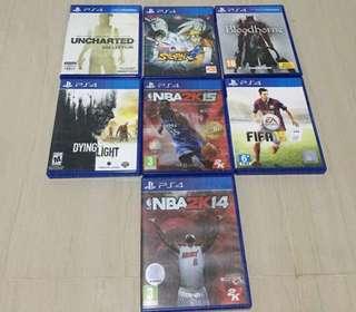 PS4 Bundle Games