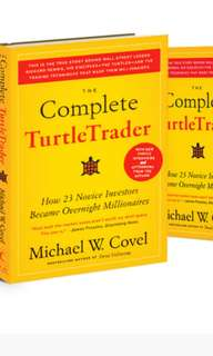 Turtle trader by Michael W. Covel (paperback)