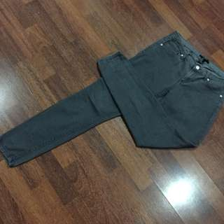 Forever 21 Gray Slim Fit Jeans