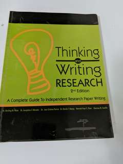 Research (ENGLRES) textbook