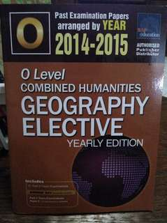 O Level TYS Geography Elective