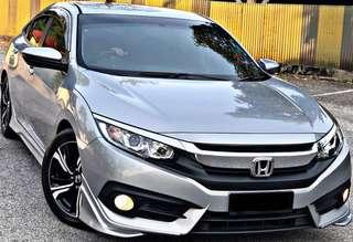 SAMBUNG BAYAR / CONTINUE LOAN HONDA CIVIC FC 1.8 AUTO TAHUN 2016