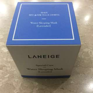 Laneige Water Sleeping Mask- special care lavender