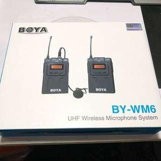 Boya BY WM6 無線收音 錄音 麥克風 咪 Microphone