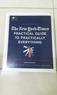 Practical Guide To Practically Everything Book