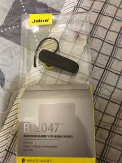Jabra bt2047 Bluetooth headset wireless