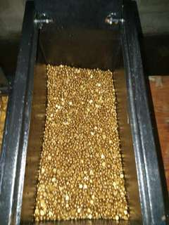 10kg, 22k, 97% pure gold nugget available for sale at affordable price.