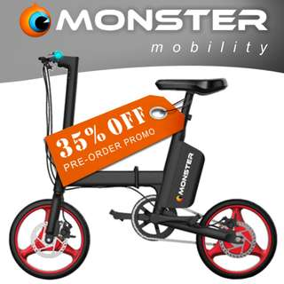 Monster iVELO Fordable E-Bike