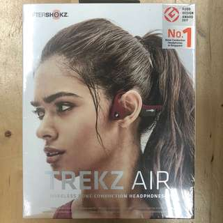 AfterShokz Trekz Air Bone Canyon Red Conduction Bluetooth