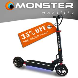 Monster 9i PRO Fordable E-Scooter
