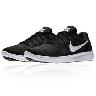 🚚 女鞋 wmns Nike FREE RN 2017 慢跑鞋/訓練鞋 台灣公司貨 880840001 黑白 健身房