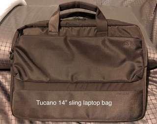"Tucano 14"" sling laptop bag"