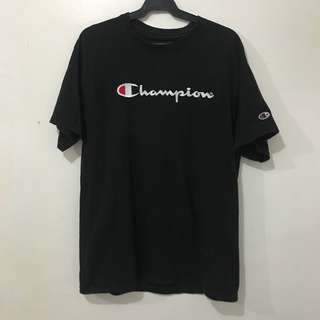 Champion Embroidered Script Tee