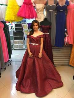 Ball gown rent