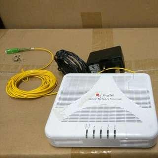 Singtel fiber cable