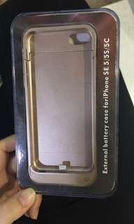 iPhone battery case for(SE5/5S/5C)
