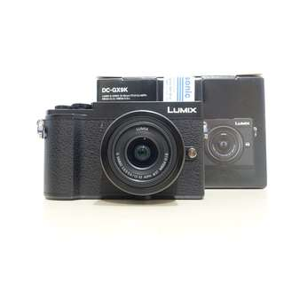 New Panasonic Lumix GX9 + Kit Lens + SD Card + Bag