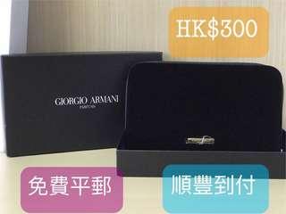 (全新)天鵝絨Giorgio Armani Parfums Clutch(Party謝師宴結婚姊妹)