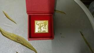 香港郵政 鍍金生肖襟章