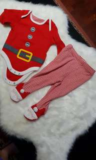 Baby Santa outfit 3-6 months