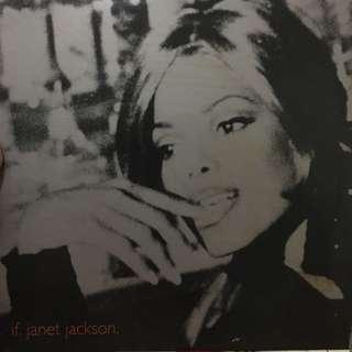 Janet Jackson vinyl record Lp