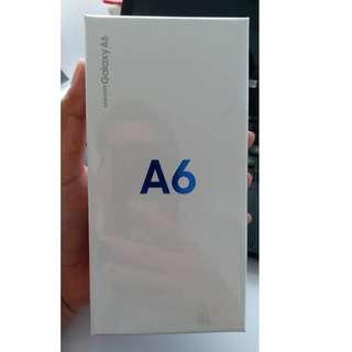 Samsung Galaxy A6 Bunga 0% Free 1x Angsuran