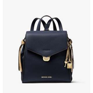 MK Bristol Small Leather Backpack