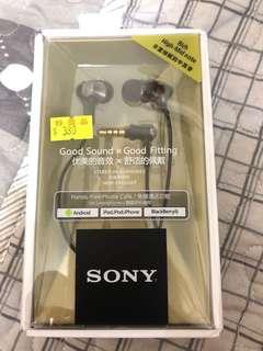 Sony mdr ex650ap 金 耳機