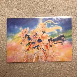 美少女戰士展 原畫 明信片 武內直子 sailor moon postcard
