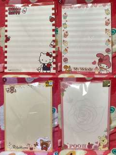 Hello kitty & friends (A4 paper)